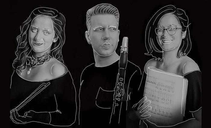Trio David Šimeček - Judita Škodová - Kateřina Ochmanová -Ledvinova 9, Praha 4, 149 00